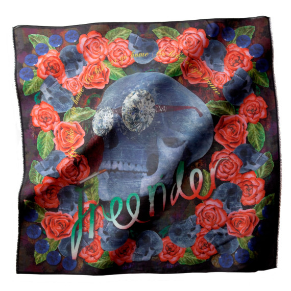rose-diamonds-skull-scarf