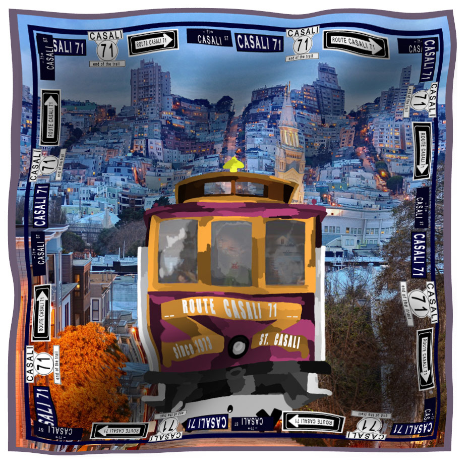 scarf tram