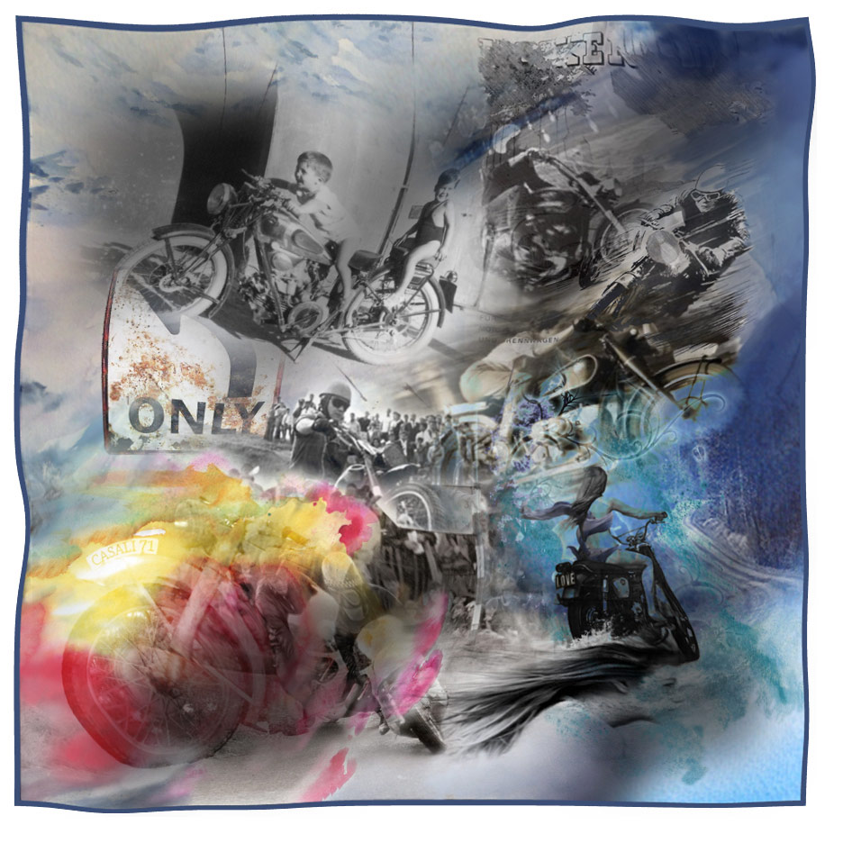 scarf vintage