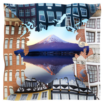 scarf facciate vulcano